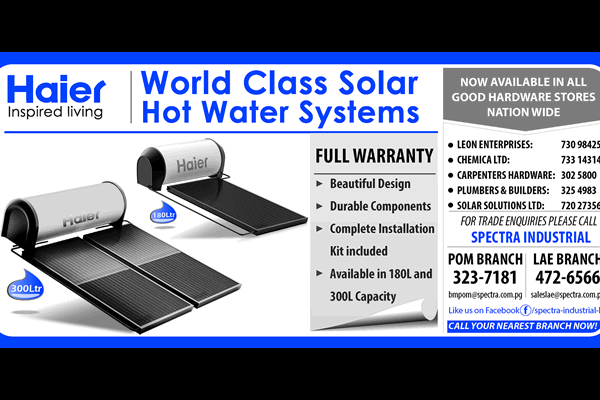 Haier Hot Water System